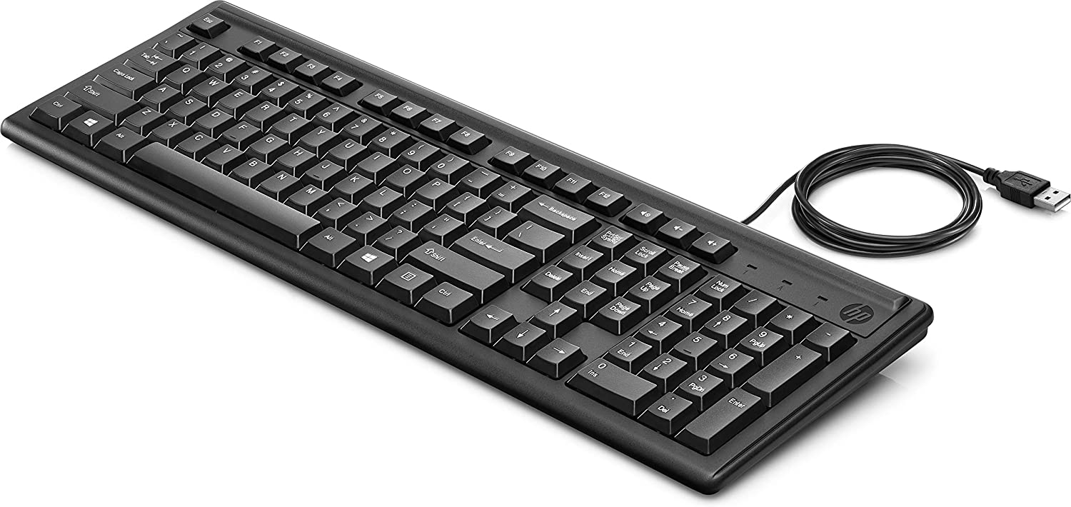 HP 100 WIRED KEYBOARD